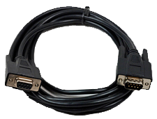 RS-232 communications cable. Part Number: 0900-0003