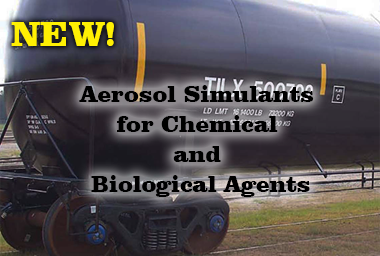 New! Aerosol Simulants for Chemical and Biological Agents