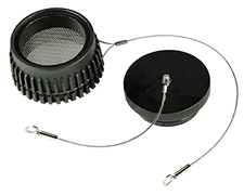 SASS 2300 replacement filter screen and plug assembly. Part Number: 7100-159-097-05